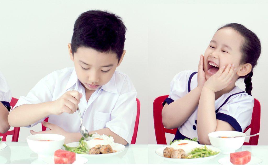 Chú ý quan trọng về chế độ dinh dưỡng cho trẻ em ở độ tuổi học đường