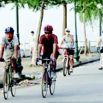 đạp xe
