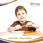 dinh dưỡng cho trẻ tăng động