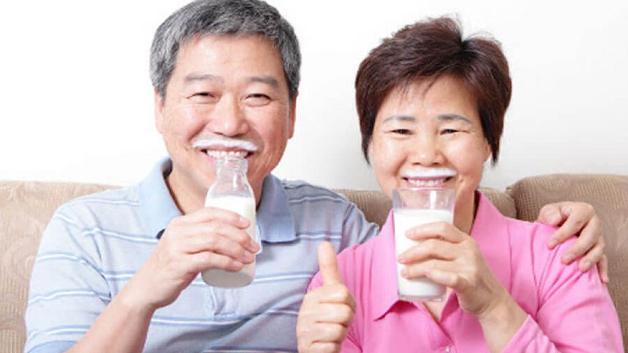 sữa giành cho người già